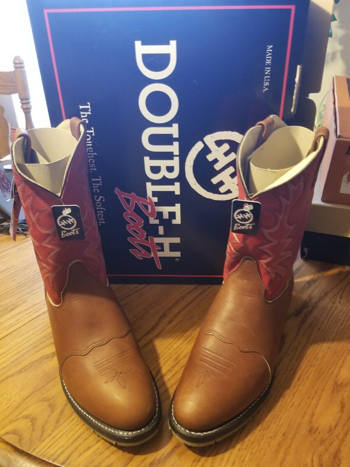Double -h Work Western Boots Dryz