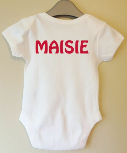 MY FIRST WORLD CUP 2018 ENGLAND BABY VEST BODYSUIT FOOTBALL SUPPORTER FAN