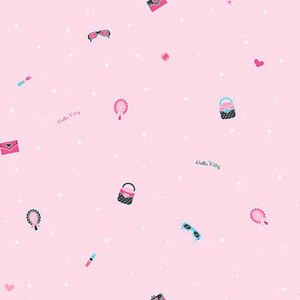 York Hello Kitty Light Pink Wallpaper Bt2781 New Multiple Available