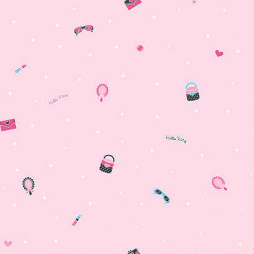 YORK Hello Kitty Light Pink Wallpaper BT2781 Multiple Available