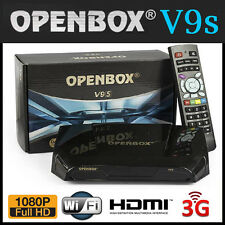 GENUINE OpenBox V9S HD Satellite Receiver Box - BUILT-IN WIFI - v8s upgrade *UK*