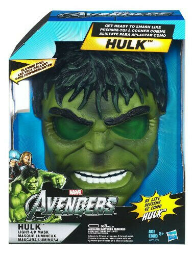 Häpnad Avengers Hulk, ljusmask