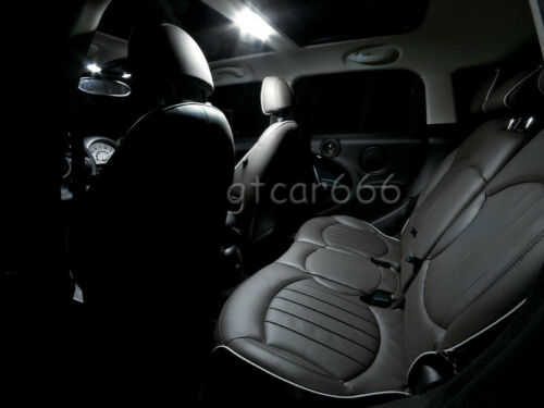 17x Xenon SMD White LED Interior Light Package Kit For BMW E46 Sedan Wagon Coupe