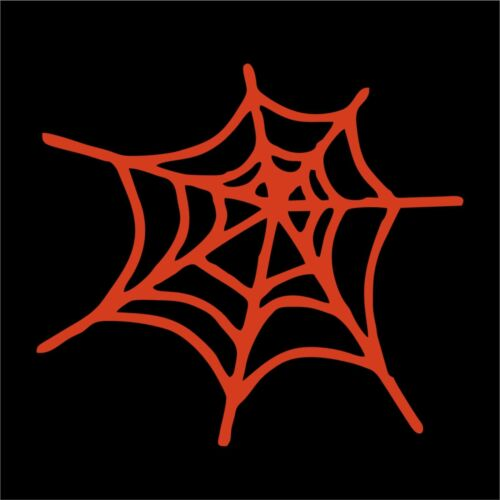 Spider Web Window Die Cut Decal Sticker Vinyl Car Many Colors /& Sizes
