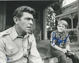 RON-HOWARD-SIGNED-AUTHENTIC-039-THE-ANDY-GRIFFITH-SHOW-039-8x10-PHOTO-BECKETT-BAS-COA
