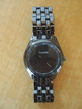 New Men's UNLISTED Kenneth Cole Watch w/ New battery - Bronze
