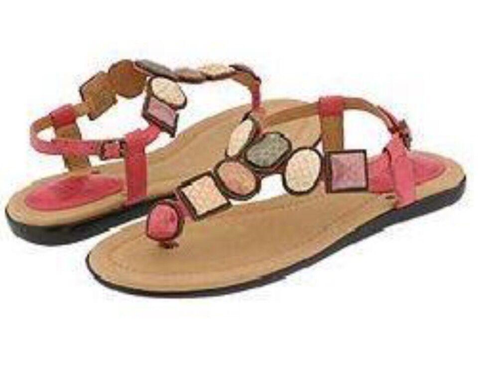 FRYE 65533;Dani Jeweled T  -Strap Sandal Dimensione 7.5 Nuovo  alta qualità e spedizione veloce