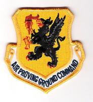 MILITARY PATCH-U. S. AIR FORCE AIR PROVING GROUND COMMAND (APGC)