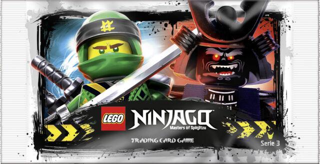 Lego Ninjago Serie 4 Trading Card Game TCG 50 Booster = 250 Sammelkarten NEU OVP