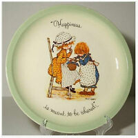 Holly Hobbie Happiness is Meant to be Shared Plate