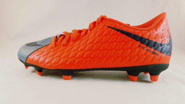 60e648e3913 Nike Hypervenom Phade III FG Soccer Cleats Women s - Size 8 Red grey ...