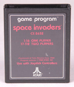 Video Games & Consoles Vintage Atari 2600 Pac-man & Space Invaders Games