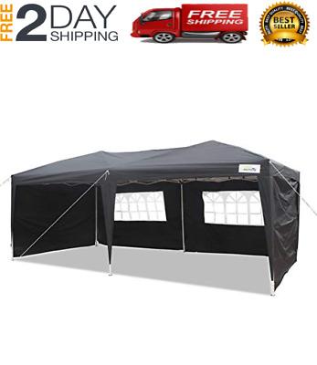 Caravan Canopy Carport 10x20' Portable Garage Shelter ...