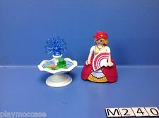 (M240) playmobil princesse rose et la fontaine magique 5142 3019 4250