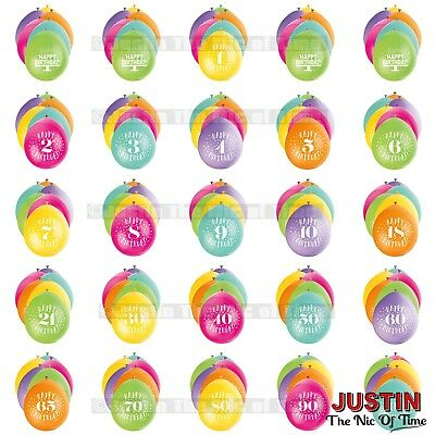 Large Range Available Party Decorations Details about  /20 BALLOONS Airfill Ages 1-100