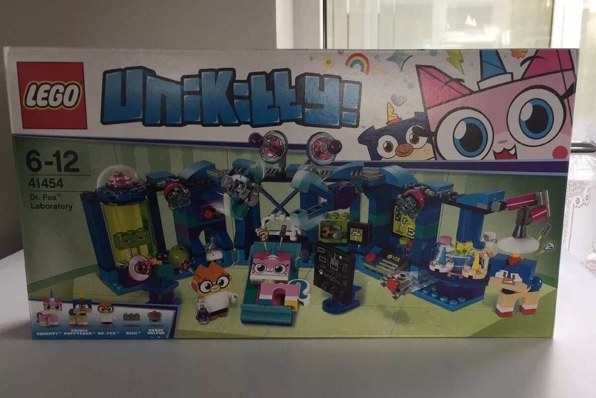 Lego Unikitty Dr. Fox Laboratory Set 41454 From 2018  Brand New