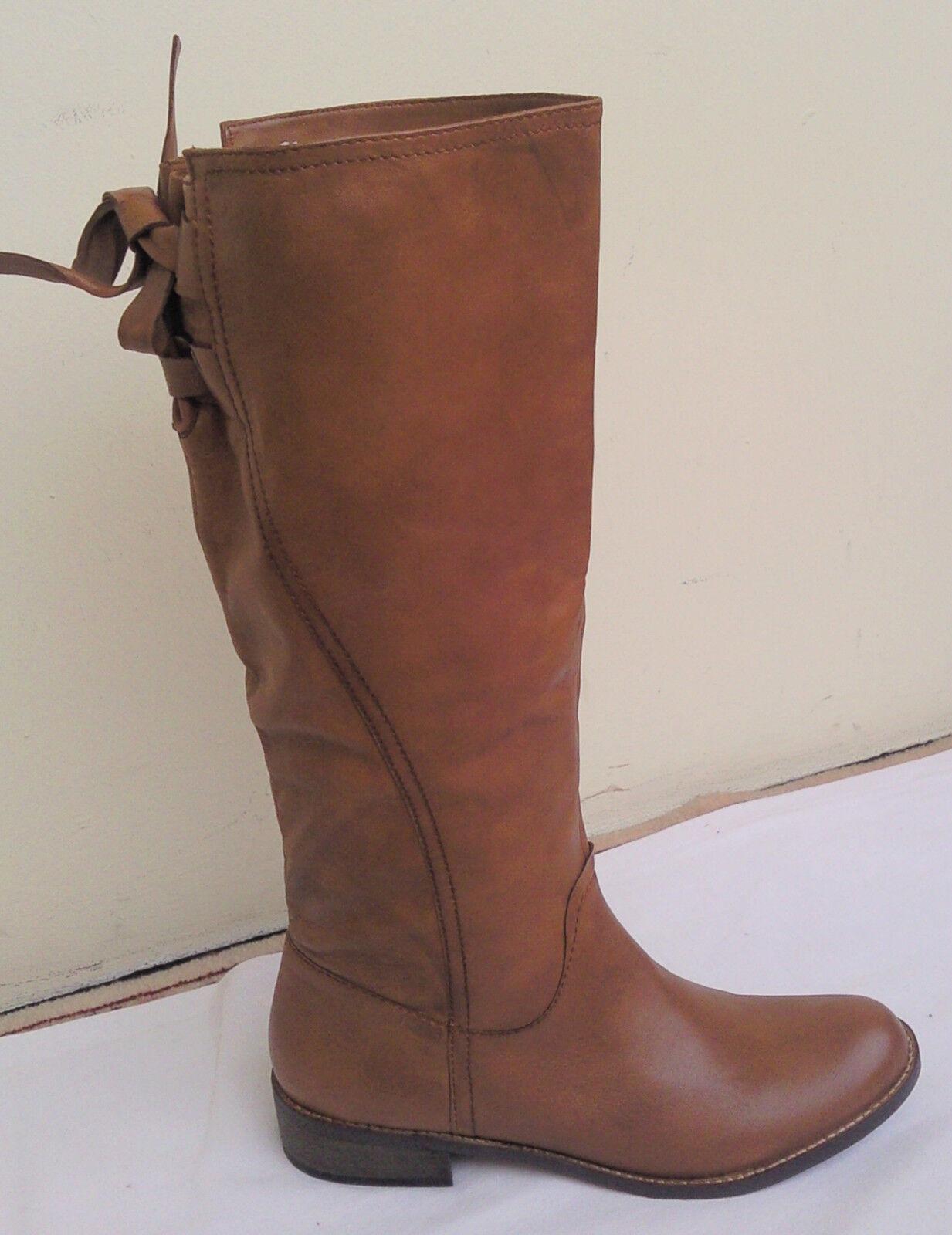 SPM Niagara, Leder, elegante Damen Stiefel, echtes Leder, Niagara, hellbraun, NEU, Gr. 38 7bad31