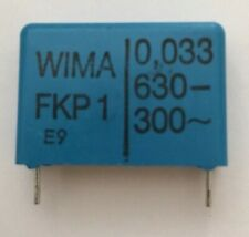 5 PC LOT 63 VOLTS WIMA FILM CAPACITOR FKP2 0.015 uF 2.5/% -