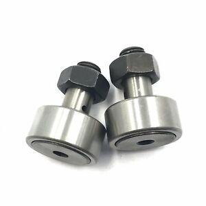 2Pcs-10-Cam-Follower-Needle-Roller-Bearing-KR22-KRV-22-CF-CAPT2012