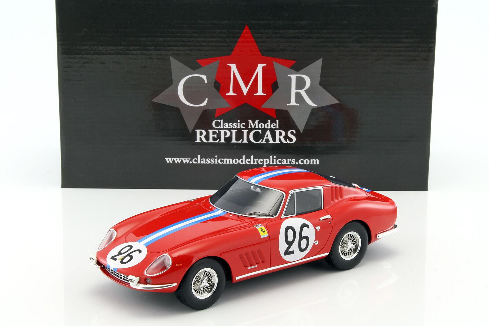 Ferrari 275 GTB  26 24 H LeMans 1966 Biscaldi, de Bourbon-Parme 1 18 CMR