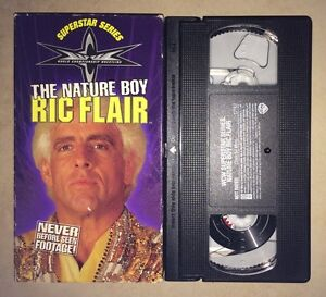 WCW-Nature-Boy-Ric-Flair-VHS-1999-NWO-WWF-WWE-NWA-RARE