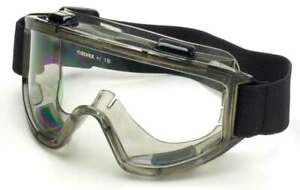 Elvex Safety Goggles with SuperCoat Anti-Fog, Scratch Resistant Coating Z87+