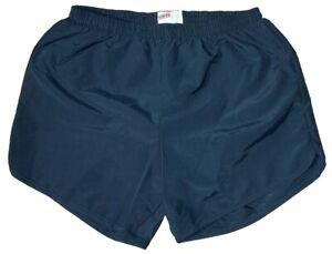 Navy-Blue-Nylon-Military-P-E-PT-Running-Volleyball-Shorts-by-Soffe-Men-039-s-Large