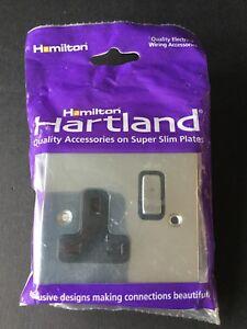 Hamilton Hartland CFX Chrome Single gang 1-gang Euro Module Aperture 77CEURO1