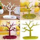Bird Tree Shape Jewelry Display Holder Ring Watch Necklace Stand Support Show #8