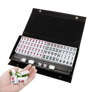 Sn-LN-Nuevo-Chino-144-Figuritas-Tradicional-Mahjong-Portatil-de-Viaje
