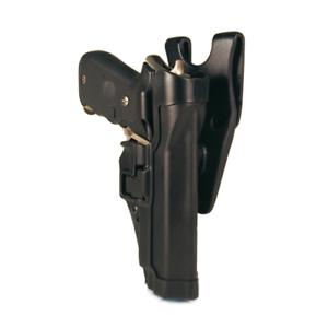 nuevo  Funda deber negroHawk Serpa nivel 2 Para Glock 17 mano izquierda Blac 44H000BK-L