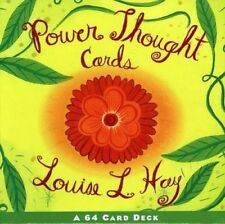 Power Thought Cards by Louise L. Hay 9781561706129 (Cards, 1998)
