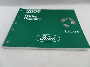 2004 FORD ESCAPE WIRING DIAGRAMS MANUAL OEM on 2004 ford freestar transmission diagram, 2004 ford f-150 wiring diagram, acura rsx wiring-diagram, 1997 ford expedition wiring-diagram, nissan titan wiring-diagram, 2003 ford expedition wiring-diagram, 2004 ford ranger manual, 2006 pontiac g6 wiring-diagram, 2004 ford freestar manual, 2002 ford windstar wiring-diagram, 2004 ford expedition engine part diagram, 2004 ford f-150 exhaust, 2001 ford explorer sport trac wiring-diagram, 2001 ford windstar wiring-diagram, 2011 ford edge wiring-diagram, 2007 acura mdx wiring-diagram, 1997 acura tl wiring-diagram, 2004 ford f-250 wiring diagram, 2004 ford ranger wiring diagram,