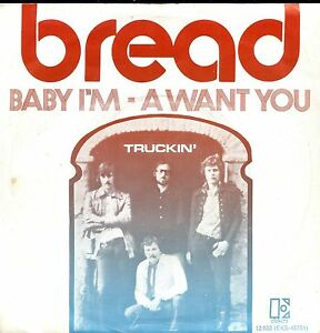 7inch-BREAD-baby-i-039-m-HOLLAND-1971-EX-PS