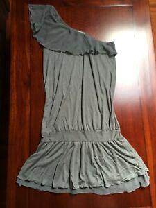 più economico 1637a 9fcb6 Dettagli su Intimissimi maxi maglia/vestito corto monospalla - carta da  zucchero M
