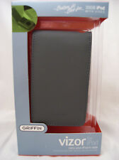 Griffin Vizor Leather Case Grey for iPod Video 30gb