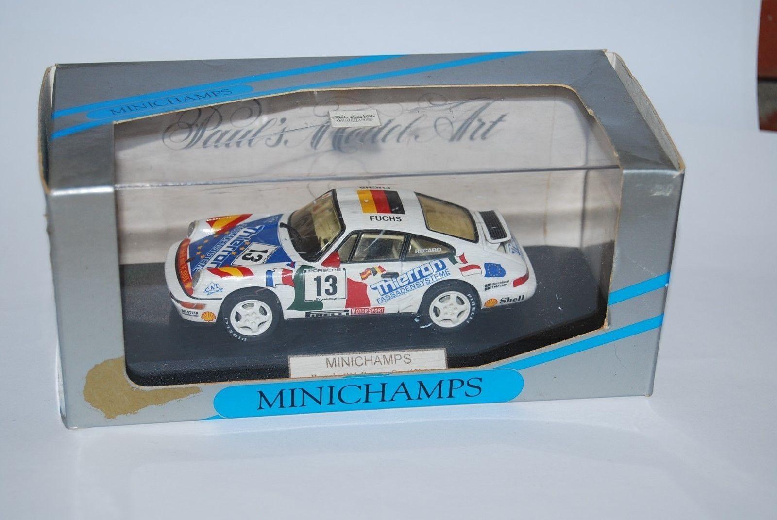 MINICHAMPS PORSCHE 911 CARRERA CUP 1993 A. FUCHS NEUF BOITE NEW BOX 1 43