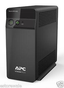 APC Back UPS BX600C-IN   600VA   2 Yrs Warranty  