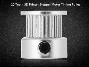20 Dents Imprimante 3d Incréments Moteur Timing Poulie-argent-afficher Le Titre D'origine Yssago4b-07161150-124334397