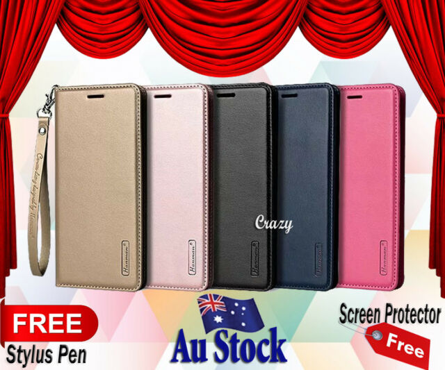 Genuine Hanman Wallet Leather Case Cover For Telstra Signature 2 / LG K10 2017