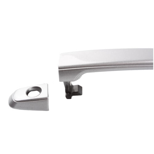 For 04-10 Sienna Silver Shadow Pearl 1D7 Front L//R Outside Door Handle W//Keyhole