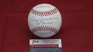 Bobby-Richardson-YANKEES-Signed-Autograph-OML-Baseball-W-3-Inscriptions-JSA-WPP