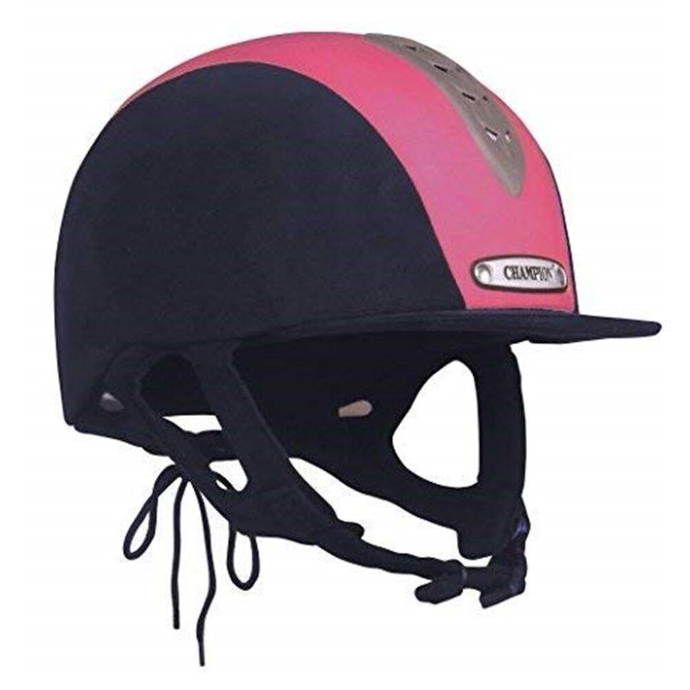Champion Junior X-air Hat Plus - Navy hot Pink - 6 7 8