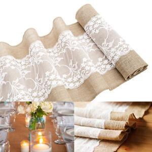 Runner-da-Tavolo-Lace-Natale-Arredo-Casa-Decorazioni-Per-Matrimonio-Elegante