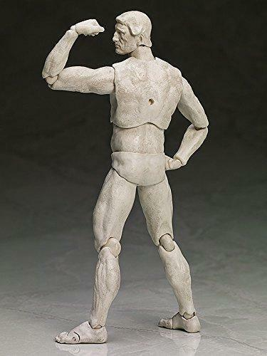 kb04c FREEing Table Museum Figma Action Figure The Thinker Plaster Version