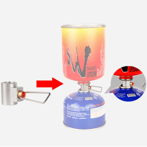 Camping Stove Gas Tank Adapter Converter Propane Gas Cylinder Refill Tool