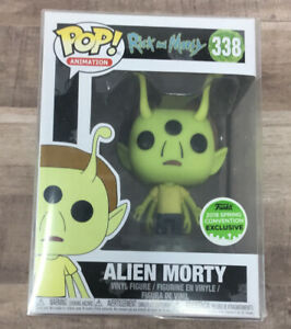 Funko Pop! Rick And Morty Alien Morty #338 2018 Spring Convention Exclusive E03