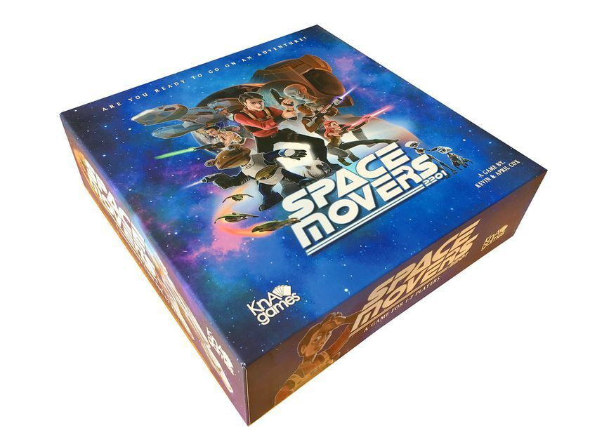 SPACE MOVERS 2201 - The Board Game  KnA Games   NEW