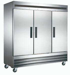 Vortex-Commercial-3-Door-Freezer-Bottom-Mount-Compressor