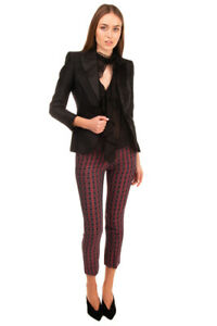 RRP-880-DSQUARED2-Wool-amp-Silk-Blazer-Jacket-Size-40-S-Fully-Lined-Made-in-Italy